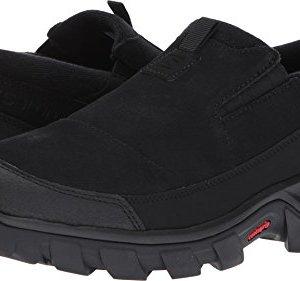 Salomon Men's Snowclog Snow Shoes, Black/Black/Black