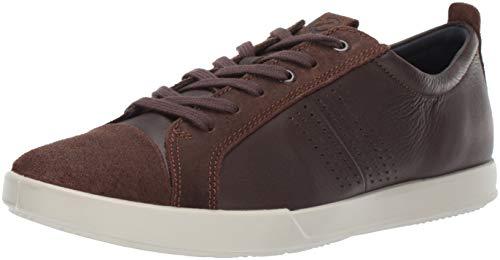 ECCO Men's Collin 2.0 Trend Sneaker, Coffee/Coffee