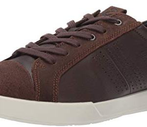 ECCO Men's Collin 2.0 Trend Sneaker, Coffee/Coffee