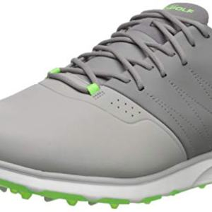 Skechers Men's Mojo Waterproof Golf Shoe, Gray/Lime