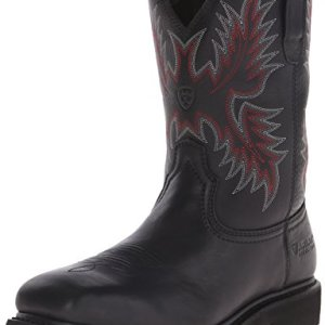Ariat Men's Sierra Wide Square Steel Toe Work Boot, Black