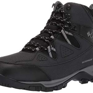 Columbia Men's LIFTOP III Snow Boot, Black, ti Grey Steel