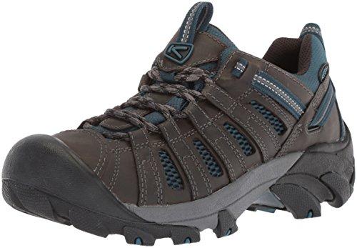 KEEN Men's Voyageur-M Hiking Shoe, Alcatraz/Legion Blue