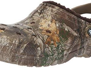 Crocs Classic Lined Realtree Edge Clog, chocolate/chocolate