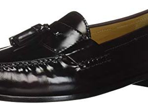 Cole Haan Men's Pinch Tassel Loafer, Burgundy