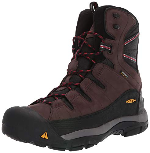 KEEN Men's Summit County Mid Calf Boot, Mulch/Black