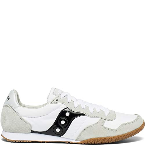 Saucony Originals Men's Bullet Sneaker, White/Black/Gum