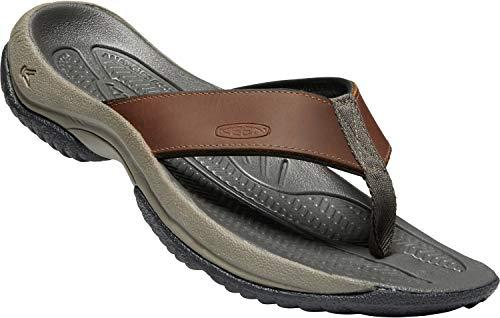 KEEN - Men's Kona Flip Premium Waterproof Leather Flip-Flops
