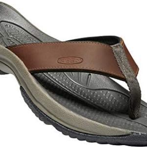 KEEN - Men's Kona Flip Premium Waterproof Leather Flip-Flops