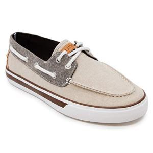 Nautica Men's Galley Boat Shoe, Khaki/Brown