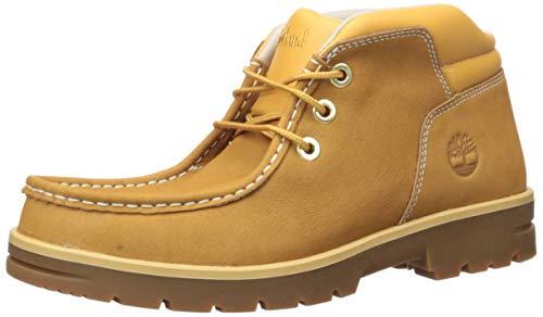 Timberland Men's Newtonbrook Moc Toe Chukka Boot,Wheat Nubuck