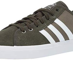 adidas Originals Men's Matchcourt Running Shoe, Night Cargo/White/raw Khaki