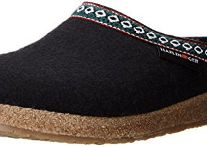 Haflinger GZ Classic Grizzly Clog, Black