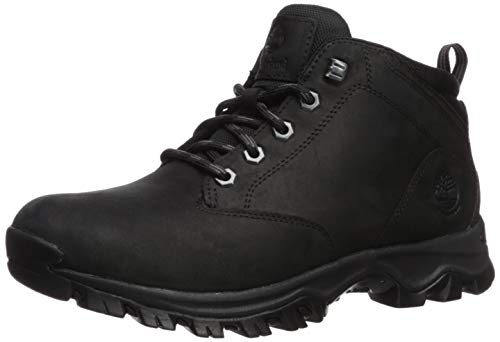 Timberland Men's Mt. Maddsen Waterproof Chukka Boot, Black Full Grain