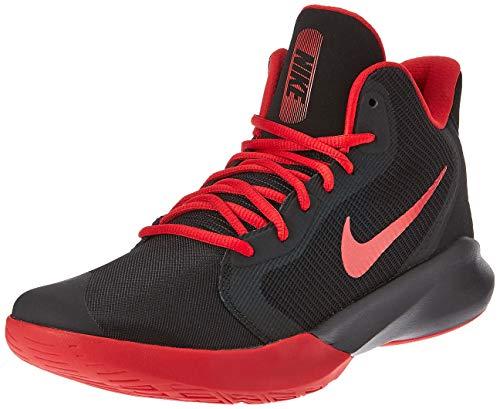 Nike Precision III Basketball Shoe, Black/University Red
