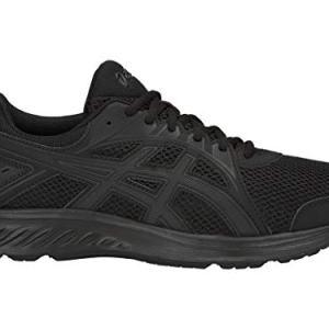 ASICS Men's Jolt 2 (4E) Running Shoes,Black/Dark Grey