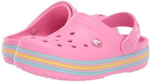 Crocs Kid's Sport Cord Clog, Pink Lemonade