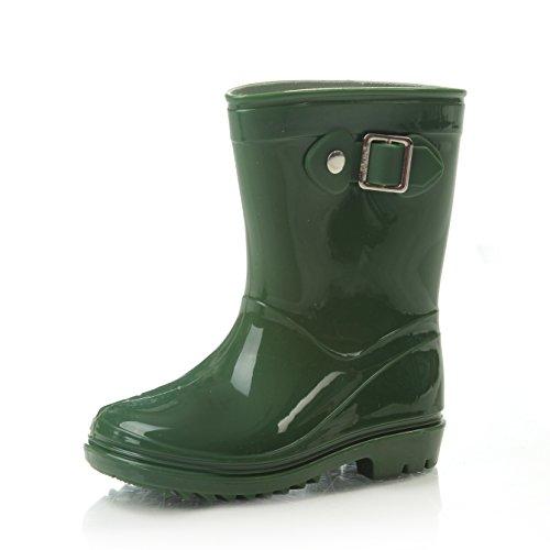 Silky Toes Boys Girls Rain Boots for Kids, Waterproof Toddler Little/Big Kids