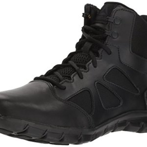 Reebok Men's Sublite Cushion Tactical Military & Tactical Boot, Black