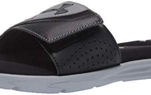 Under Armour Men's Ignite VI SL Slide Sandal, Black