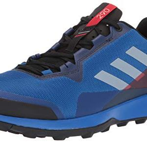 adidas outdoor Men's Terrex CMTK Trail Running Shoe, Blue Beauty/Grey