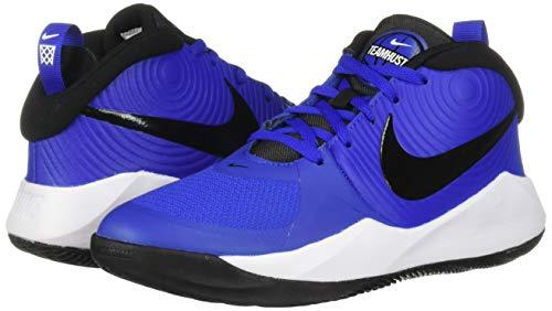 Nike Unisex-Kid's Team Hustle D 9 (GS) Sneaker, Game Royal/Black