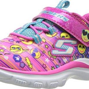 Skechers Kids Baby Girl's Trainer Lite - Color Dance (Toddler) Multi