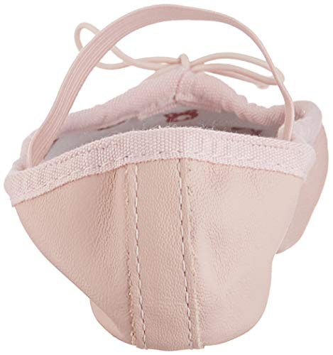 Bloch Dance Bunnyhop Ballet Slipper (Toddler/Little Kid) Little Kid Introductory ballet shoe for younger college students with elastic connected over the instep Full leather-based outsole and insole that add resistance to the working foot for strengthening Light pink higher leather-based is complimented with a gentle swan down lining for consolation Lining is printed in shades of pink and purple with Bloch Bunnyhop design for kids Sock lining options Bunny hop emblem and house for identify Sizing: Start with 1/2 measurement up from avenue shoe; Width: A=Narrow, B=Narrow/Medium, C=Medium, D=Medium/Wide