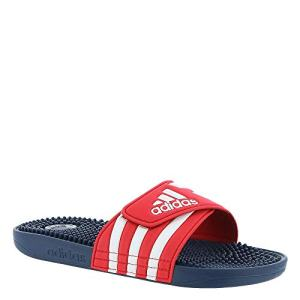 adidas Adissage Slide Sandal, Red