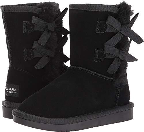 Koolaburra by UGG Girls' Victoria Short Fashion Boot, Black