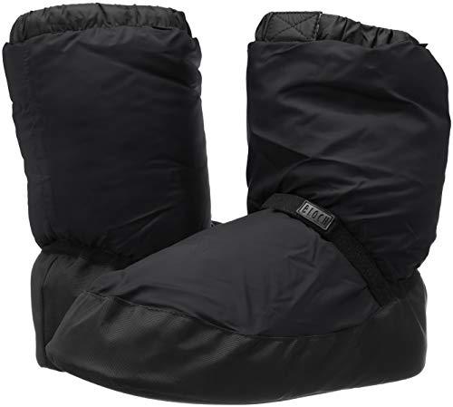 Bloch Girls Bootie Warm Up Boot/Slipper, Black, X-Large