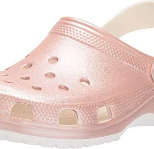 Crocs Classic Metallic Clog, Rose Gold