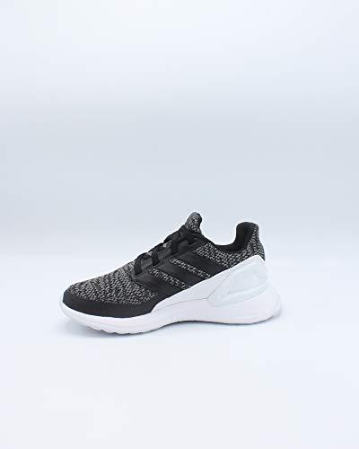 adidas Unisex RapidaRun, Black/Black/Grey