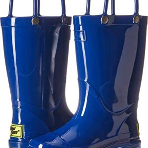 Western Chief Kids Unisex-Kid's Waterproof PVC Light-Up Rain Boot