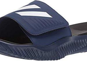 adidas Men's Alphabounce Slide Shoes, Dark Blue/White/Black