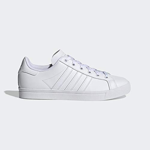 adidas Originals Men's Coast Star Sneaker, White/White/Grey