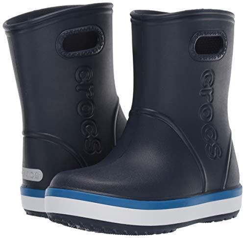 Crocs Kids' Crocband Rain Boot | Easy Slip On for Toddlers