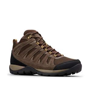 Columbia Men's Redmond V2 MID Waterproof Hiking Shoe, Cordovan