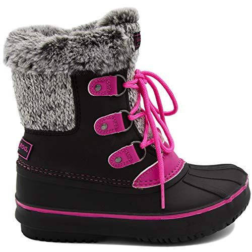 LONDON FOG Girls Tottenham Cold Weather Snow Boot
