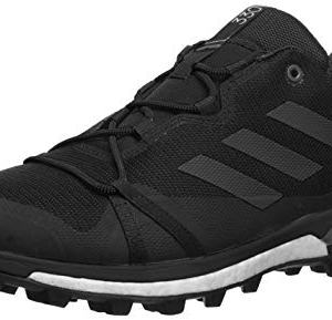 adidas outdoor Men's Terrex Skychaser LT Athletic Shoe, Black/Black/Grey Four, 7.5 D US