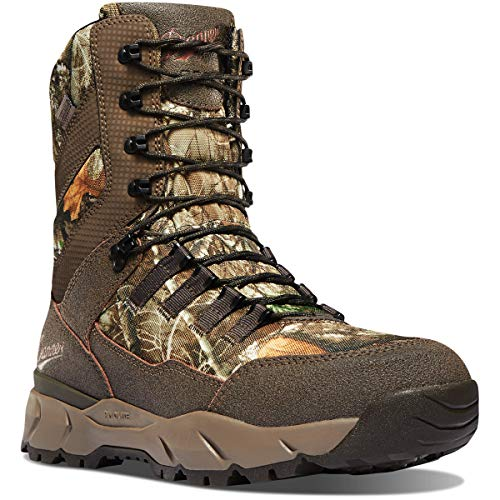 """Danner Men's Vital 8"""" 800G Waterproof Hunting Boot, Realtree Edge"""