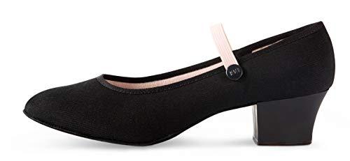 Bloch Girls' Tempo Accent Dance Shoe, Black