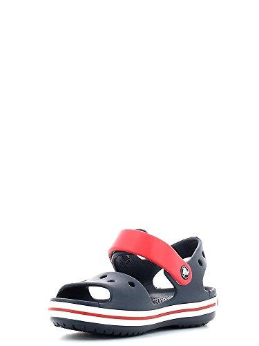 Crocs Kids Crocband Sandal (Toddler/Little Kid) Navy/Red