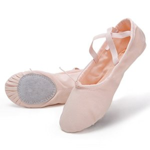 Swan Pro High-Count Cotton Canvas Ballet Dance Slippers