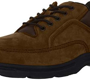 Rockport Men's Eureka Walking Shoe Oxford, Chocolate