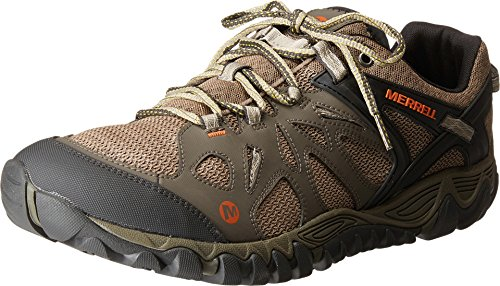 Merrell Men's All Out Blaze Aero Sport Hiking Water Shoe, Khaki