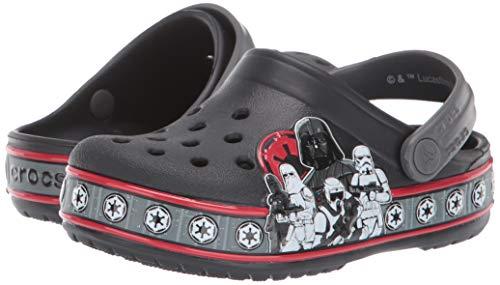 Crocs Kid's Star Wars Empire Band Character Clog, Black