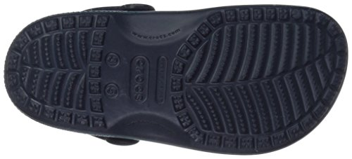 crocs Unisex Classic Ombre Clog K, blue ombre Iconic Crocs Comfort: Lightweight. Flexible. 360-degree comfort Pivoting heel strap for a more secure fit Croslite foam outsole for better traction, support, and all day comfort Our Classic Clogs take on one of the hottest color trends of the year, ombre-effect graphics that create a gradual transition of color from heel to toe. A little bit rainbow, a little bit tie-dyed, yet totally original. Brighten their days with a burst of ombre!