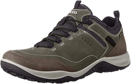 ECCO Men's Esphino GORE-TEX waterproof Hiking shoe, Tarmac/Tarmac