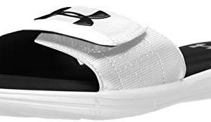 Under Armour Men's Ignite V Slide Sandal, White